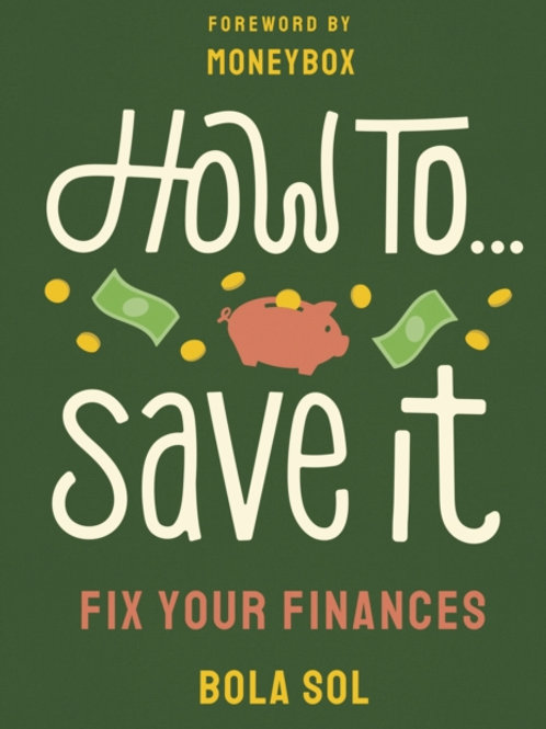How to Save It - Bola Sol