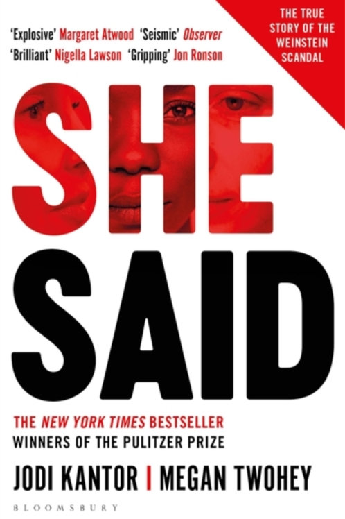 She Said -  Jodi Kantor and Megan Twohey