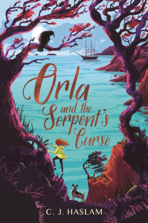 Orla and the Serpent's Curse - C.J. Haslam