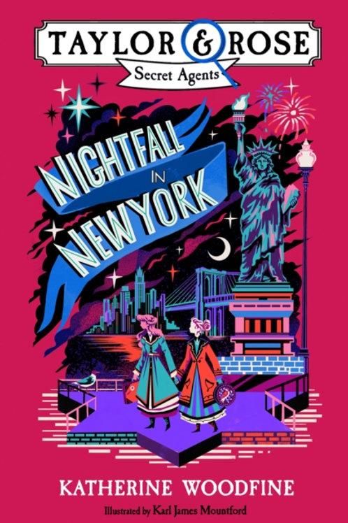 Nightfall in New York - Katherine Woodfine