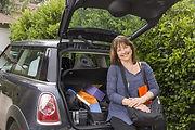 Kathleen Ross-Allee on the road