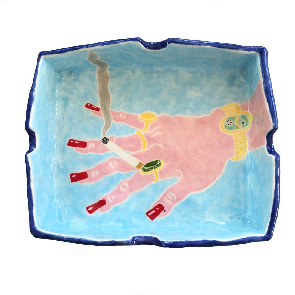 Hand Ashtray