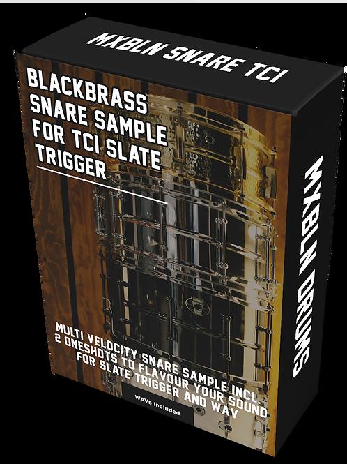 BLACKBRASS SNARE SAMPLE FOR SLATE TRIGGER