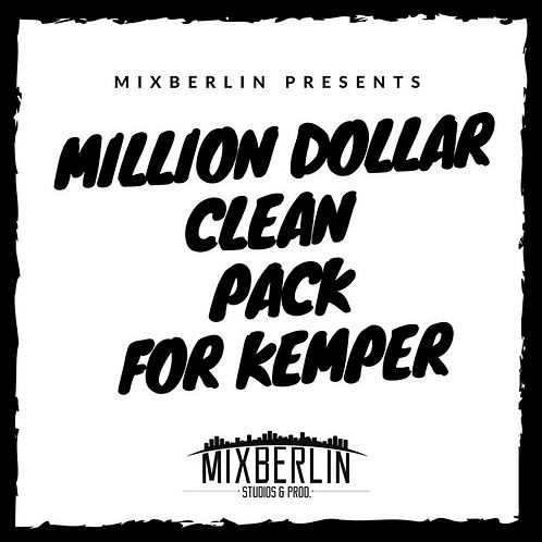 mixberlin million dollar clean pack