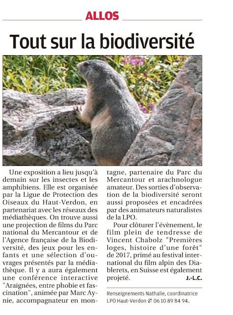 La Provence_fête_biodiversité_04-01-19.p