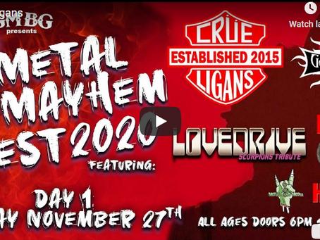 Relive Metal Mayhem Fest!