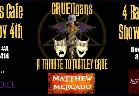 CRÜEligans are coming to Lubbock, Tx!