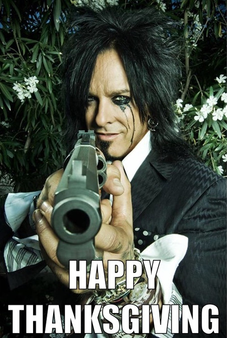 CRÜEligans would like to wish everyone a very happy and safe thanksgiving!