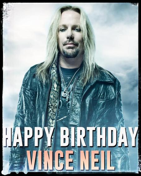 Happy birthday to Vince!