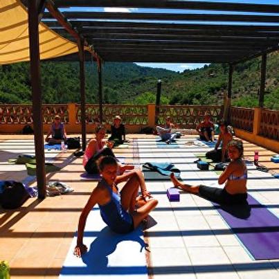 Aly's Spanish Yoga Retreat, Andalucia