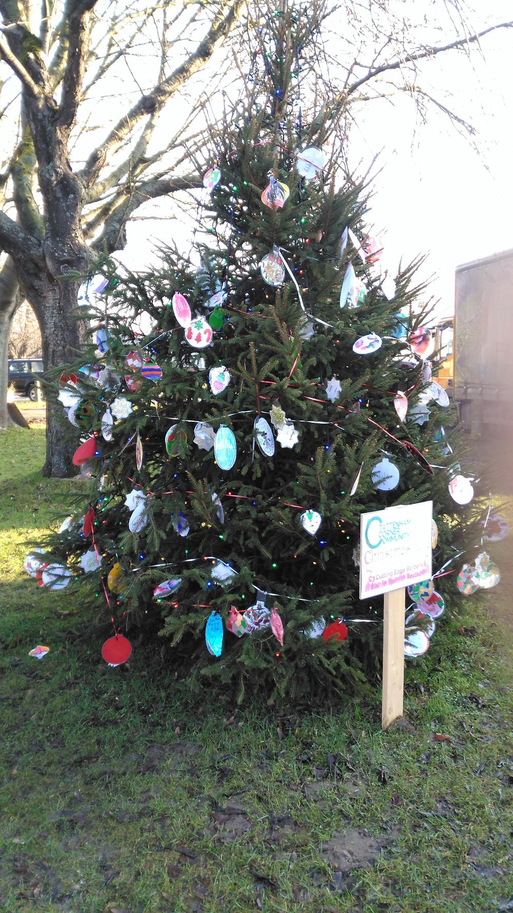 Tattenham corner Christmas Tree