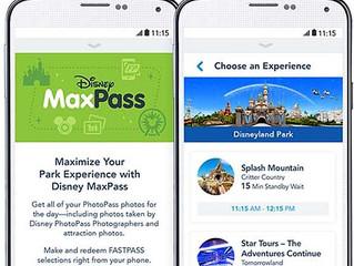 Disneyland's MaxPass System