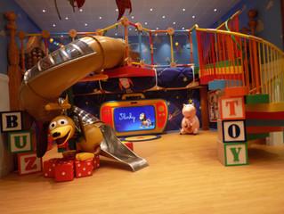 Kids' Spaces on the Disney Wonder