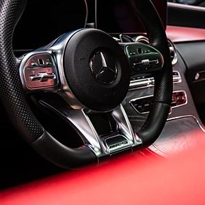 Mercedes c43 AMG Interiör