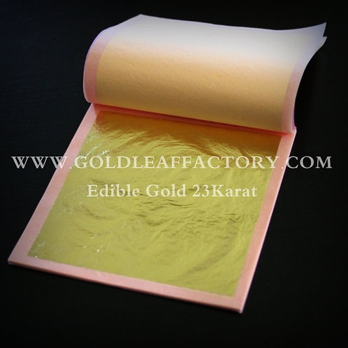 DOUBLE GOLD 23K - GILDING LOOSE LEAVES