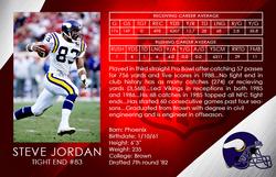 Steve Jordan Minnesota Vikings