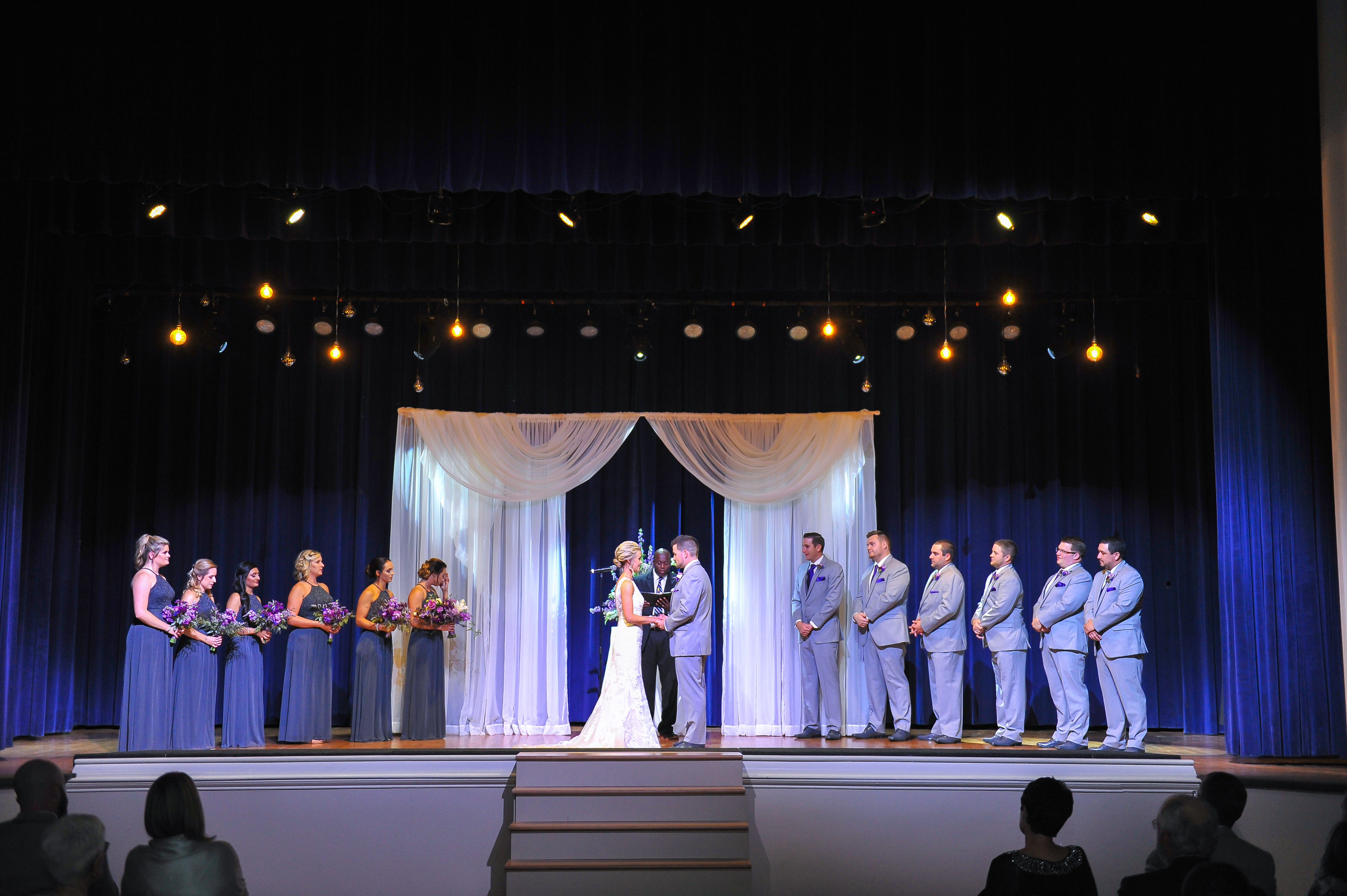 Medallion Theater ceremony