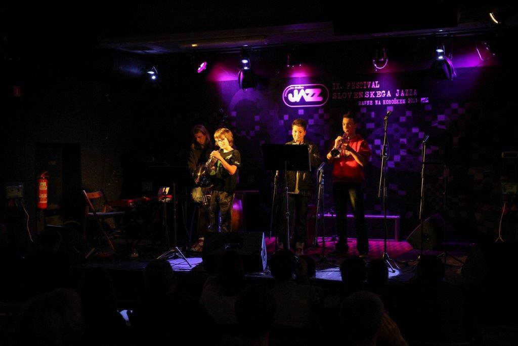 Udeleženci šole Jazz Ravne
