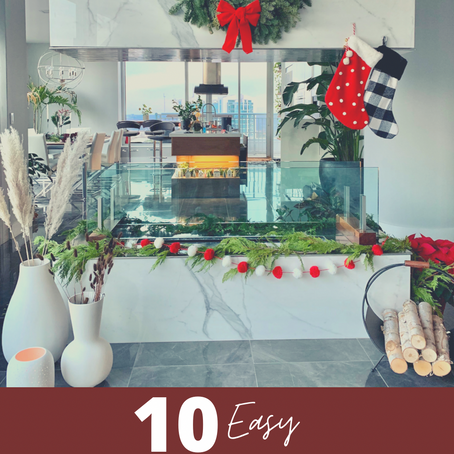 10 Easy Christmas Decorating Ideas While On A Budget