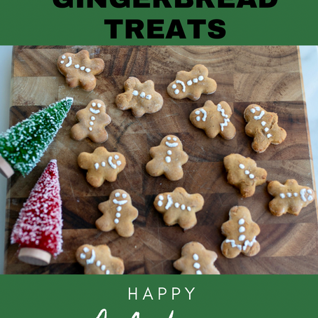 Easy Dog-Friendly Gingerbread Treats