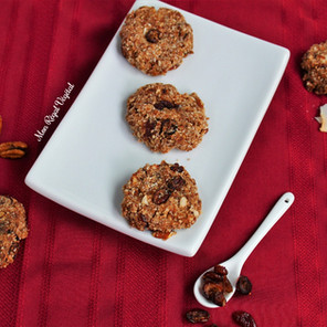 Biscuits style «granola» coco, canneberges & pacanes