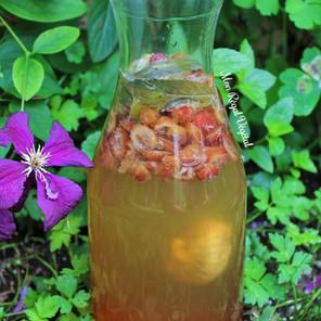Kéfir de grains fermenté assaisonné (méthode 2: double fermentation)