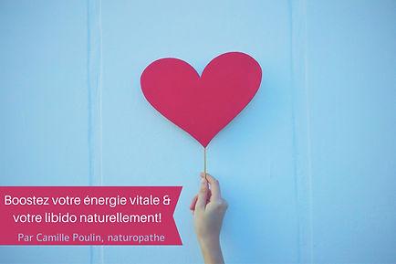 Boostez votre énergie vitale & votre lib