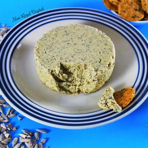 Fromage végétal aux graines de tournesol et herbes de Provence