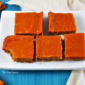 Barres dessert à la patate douce style « caramel au beurre »