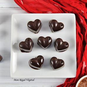 Chocolats fourrés au beurre choco-noisettes