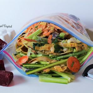 Bouillon de légumes maison {Végane, sans gluten, zéro déchet et santé}