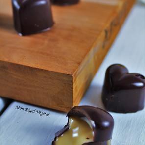 Chocolats fourrés au beurre d'érable