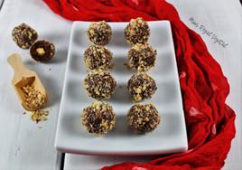 Truffes choco-noisettes (style Ferrero) version classique et « de luxe »