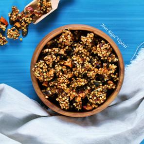 Granola «Pépites d'or» au sarrasin et aux dattes