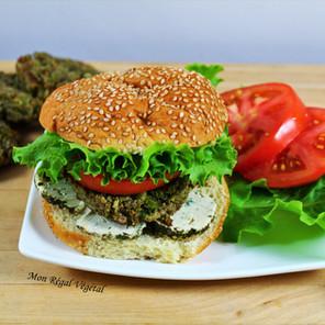 Burgers aux boulettes vertes ultra-saines et savoureuses
