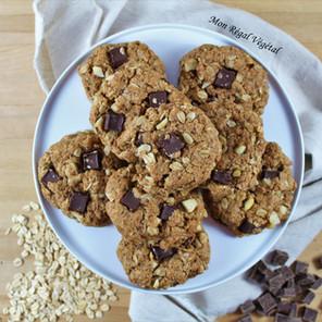 Biscuits choco-tahini à se rouler par terre