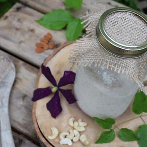 Yogourt de noix maison, fermenté et nutritif {Végane, sans gluten}