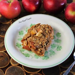 Croustade aux pommes {Végane, options sans gluten, sans noix et hypotoxique}