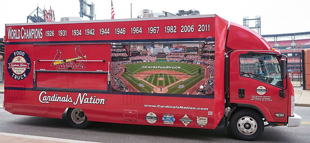 St  Louis Cardinals Roll Out Food Truck, New Food for 2017