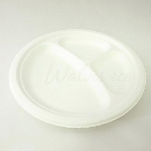 "9"" Plates - 3 Compartments   (500/case)"