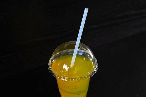 "PLA Bio-Plastic Jumbo 7 3/4"" Straws      (2000/case)"