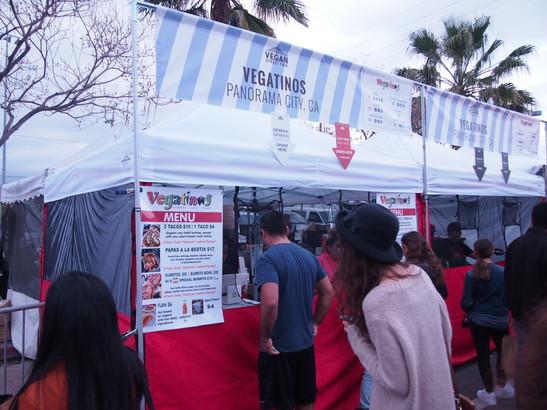 Vegatino the Vegan Mexican Food Truck!