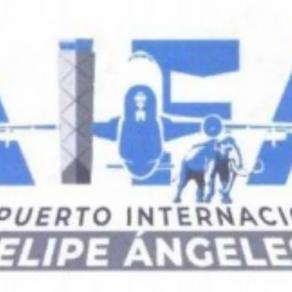 Tras críticas a logo del aeropuerto Felipe Ángeles, cancelan solicitud de registro ante el IMPI