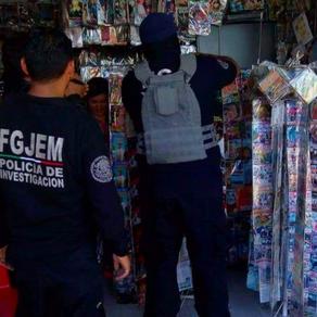 Aseguran local comercial en Texcoco