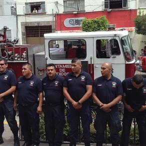 H. Cuerpo de Bomberos de Texcoco cumple 34 Años de servir al municipio