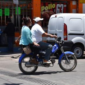 Sin educación vial, motociclistas de Texcoco