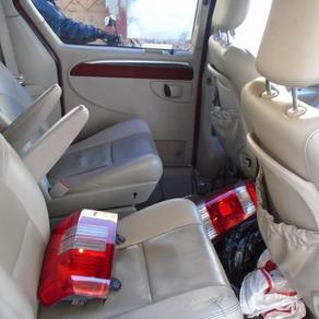 Detienen a dos personas por robo de autopartes en Texcoco