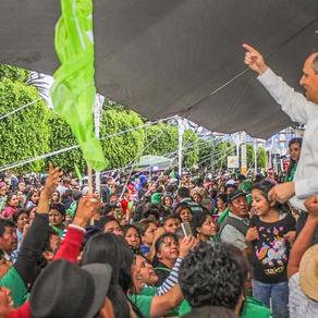 En Texcoco, la única alianza del Partido Verde es con la gente