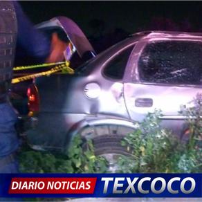 Deja un muerto choque en la autopista Peñón-Texcoco