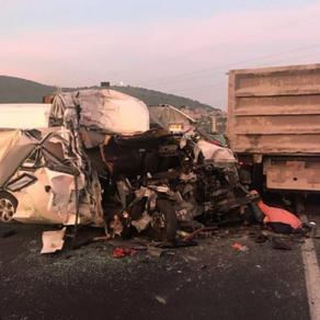 Trágico choque en la México-Pachuca deja 12 muertos